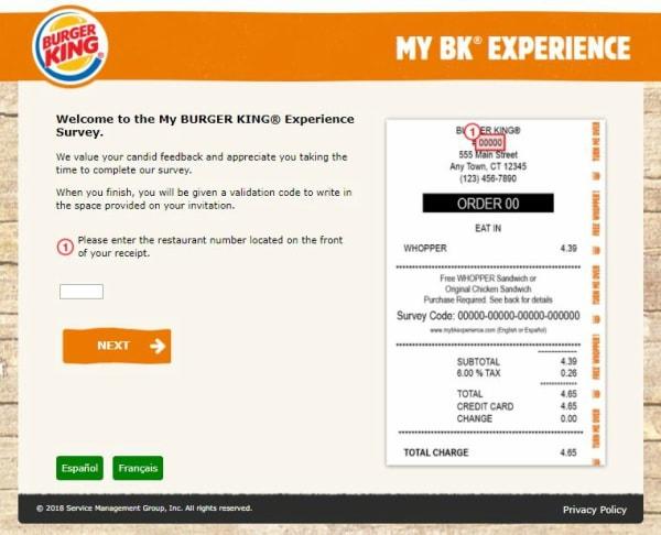 www.mybkexperience.com survey